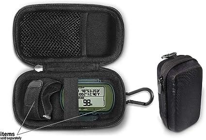 Funda para GPS de Senderismo Compatible con Garmin Foretrex 401, 301, 201, 601, 701 GPS Manos Libres, navegador de muñeca, Funda compacta y Ligera para una excelente protección y fácil Transporte: Amazon.es: Electrónica