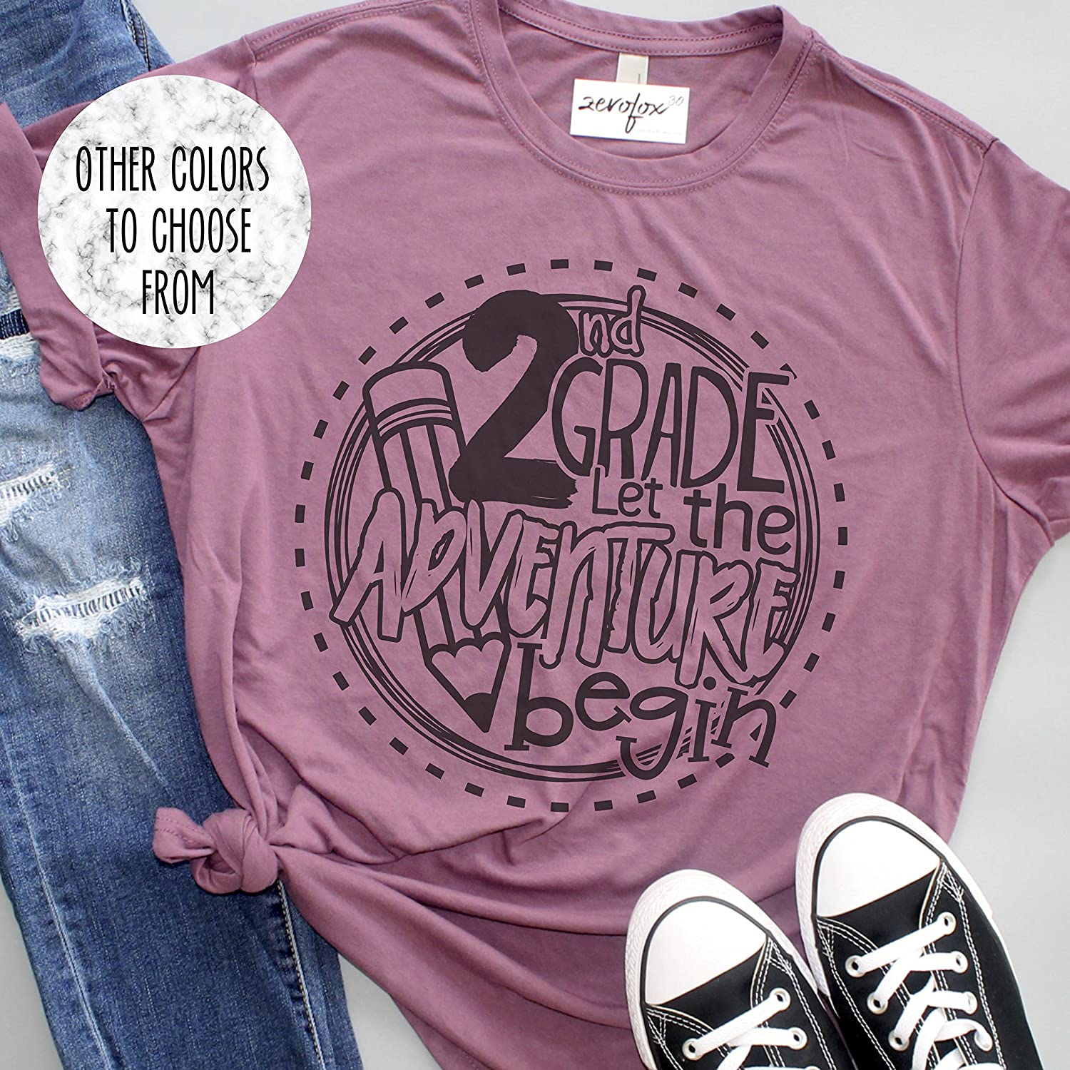 2nd Grade - Let the Adventure Begin Unisex TShirt