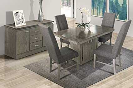 Fashion Höme Buffet para Comedor Sacramento - Gris: Amazon.com.mx ...