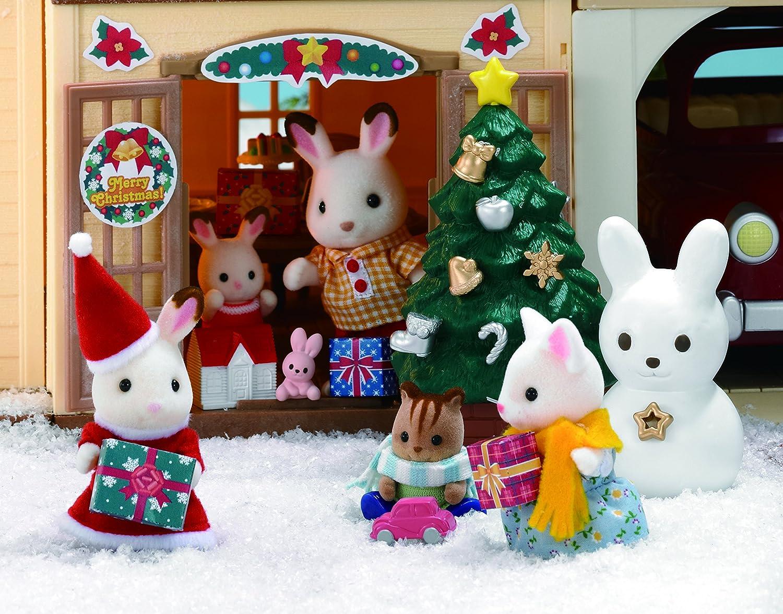 sylvanian families noel Sylvanian Families Christmas Set: Amazon.co.uk: Toys & Games sylvanian families noel