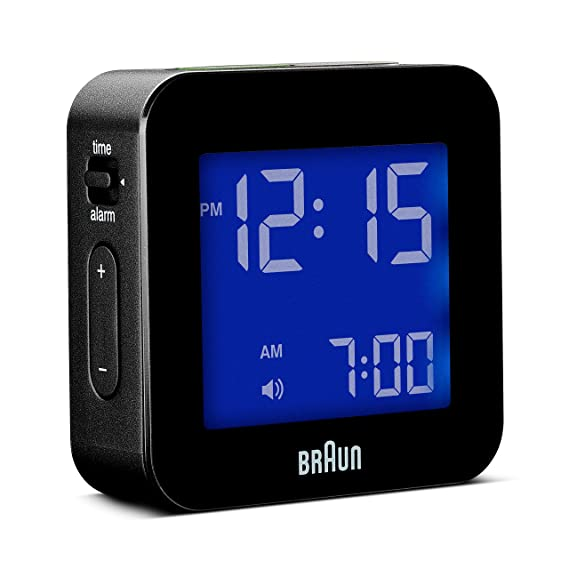 Amazon Braun BNC008BK LCD Quartz Alarm Clock Watches