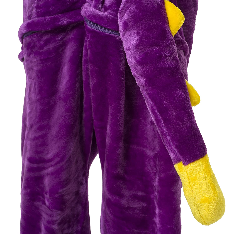 1744 Color dinosaurio lila Talla 175-185cm Katara- 10+ Modelos Kigurumi Pijamas Disfraz Animal Halloween Adultos