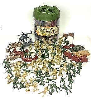 Elite Force Battle Group Army Men Play Bucket