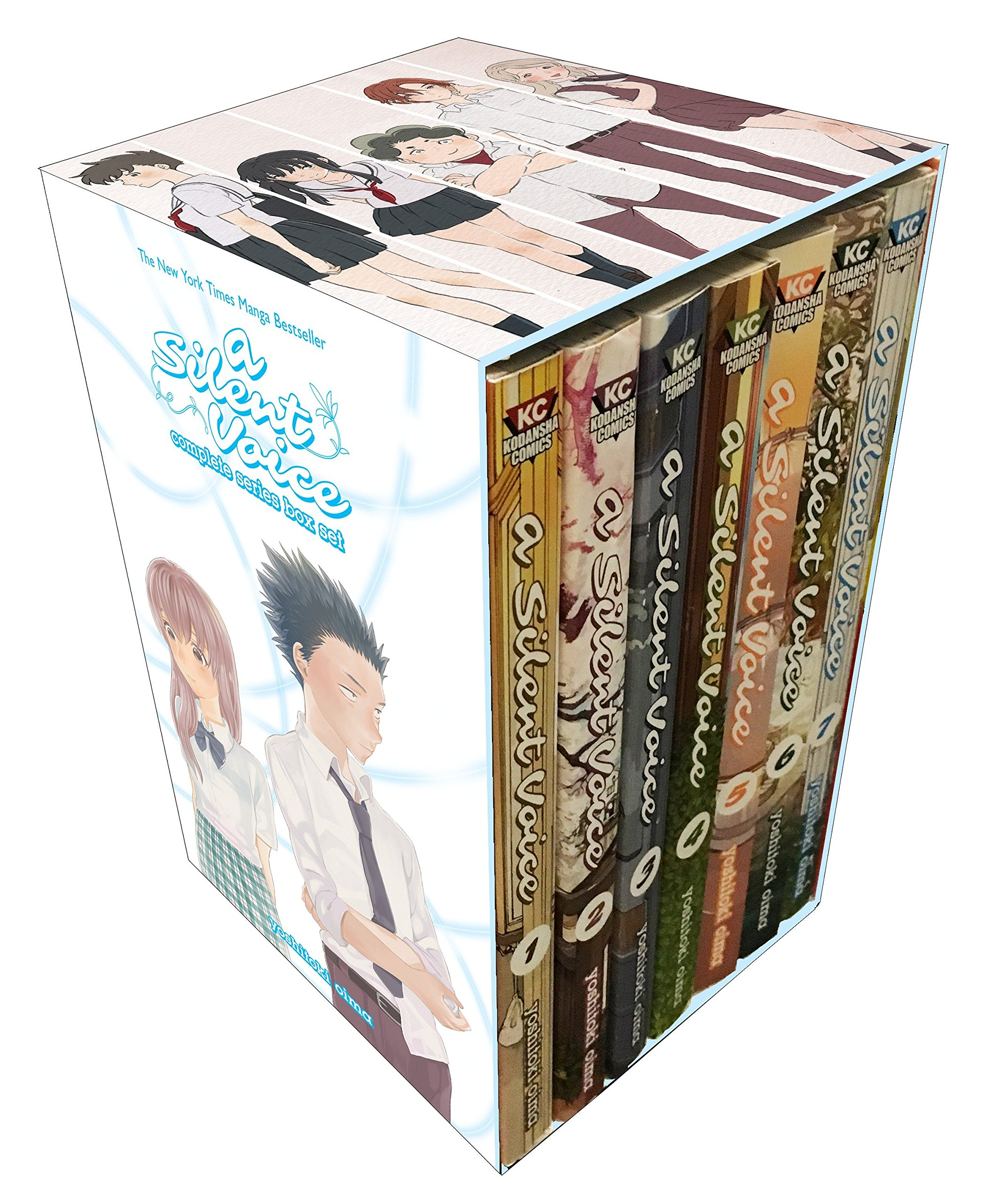 A Silent Voice Complete Series Box Set by Kodansha Comics
