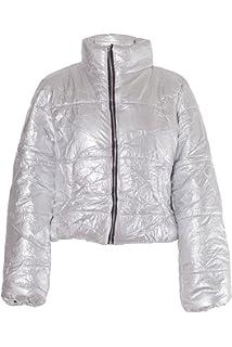 ed3e8d34660 PILOT Women's Cropped Puffer Jacket in Black at Amazon Women's Coats ...