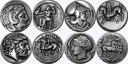 Golden Artifacts Alexander Der Großezeus Athenepegasus Zeus