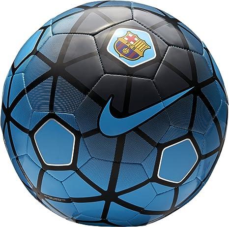 Nike FCB Supporters - Balón de fútbol, Color Azul/Negro, Talla 5 ...