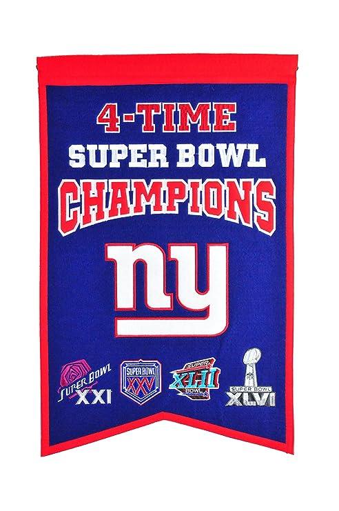 832dbe9f NFL New York Giants Super Bowl Champions Banner