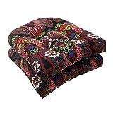 Pillow Perfect Indoor/Outdoor Marapi Wicker Seat