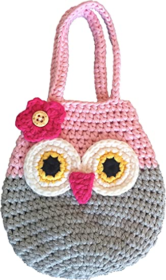Amazon.com: Sarah & Victoria Happy Owl Mini bolso, bonito ...