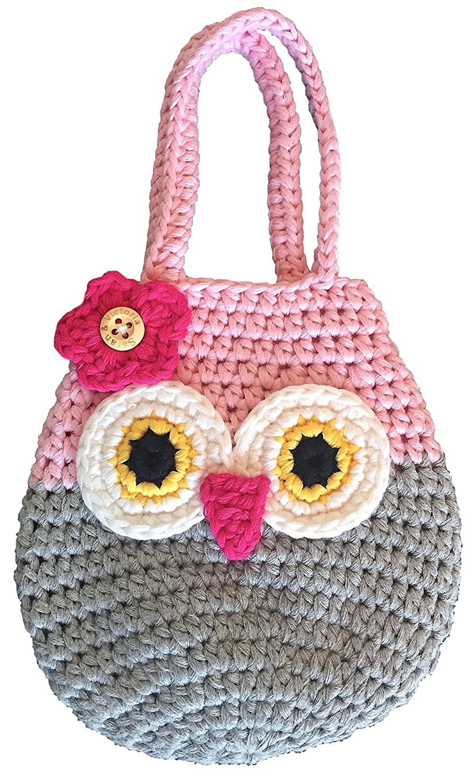 Sarah & Victoria Happy Owl Mini Purse