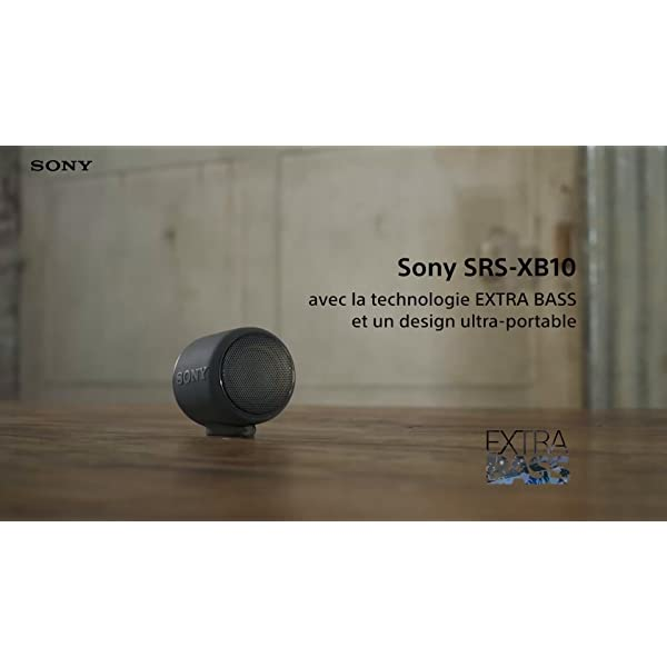 Sony SRS-XB10W Enceinte portable compacte sans fil Bluetooth NFC - Blanc 7