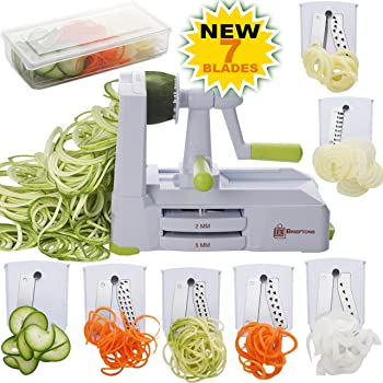 Brieftons 7-Blade Spiralizer