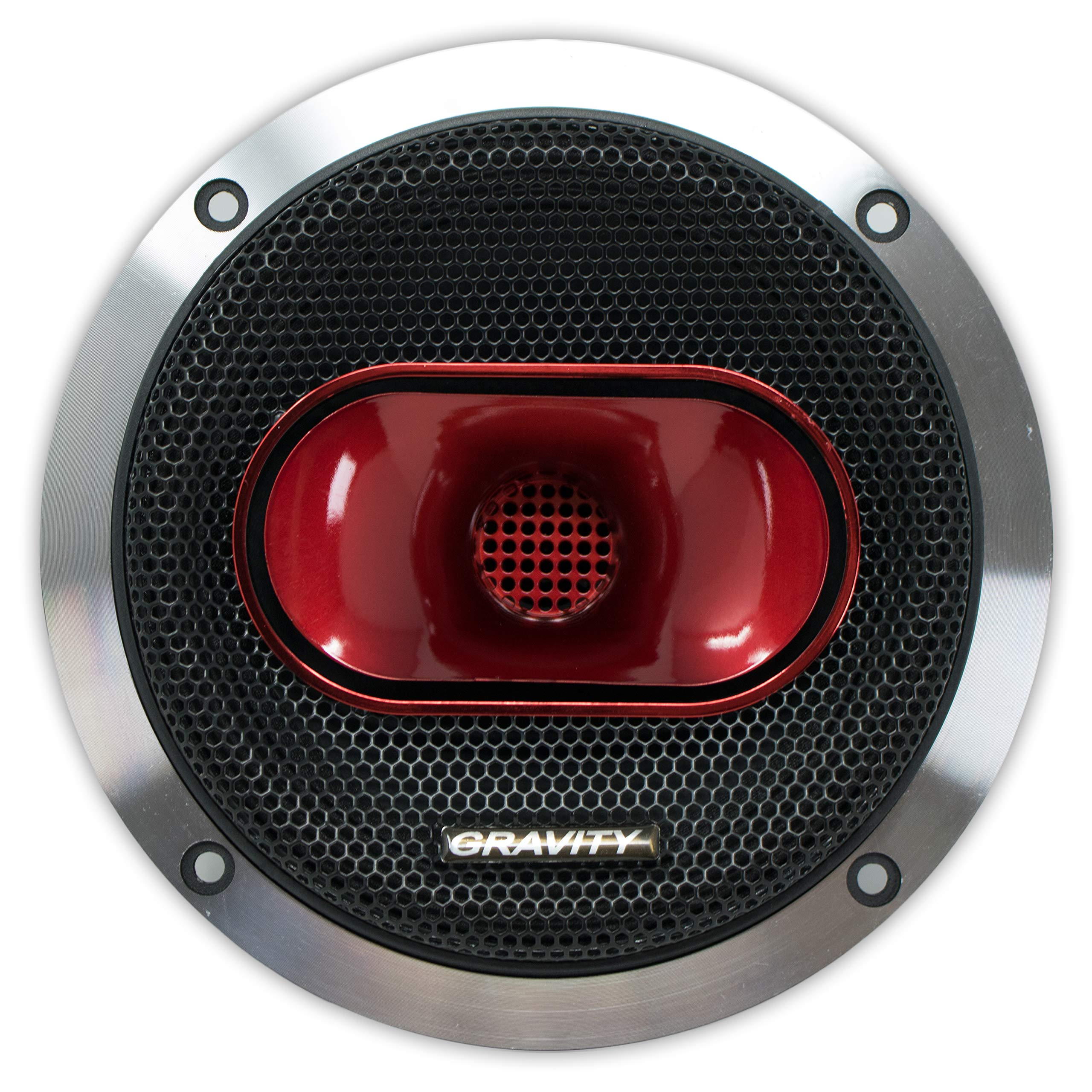 Gravity Warzone Series 6.5'' inch Pro Midrange Coaxial Loud Speaker 4-Ohms with 600W Max, 1 Speaker WZP65 by Gravity Professional (Image #2)