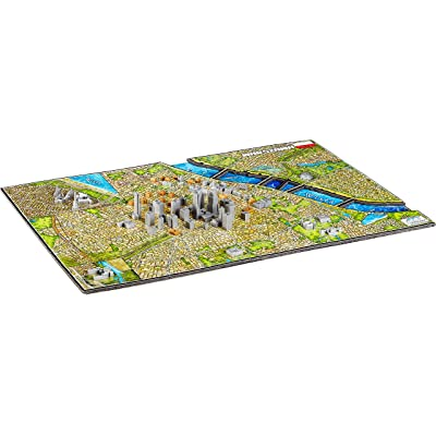4D Cityscape Warsaw Puzzle (1000 Piece): Toys & Games