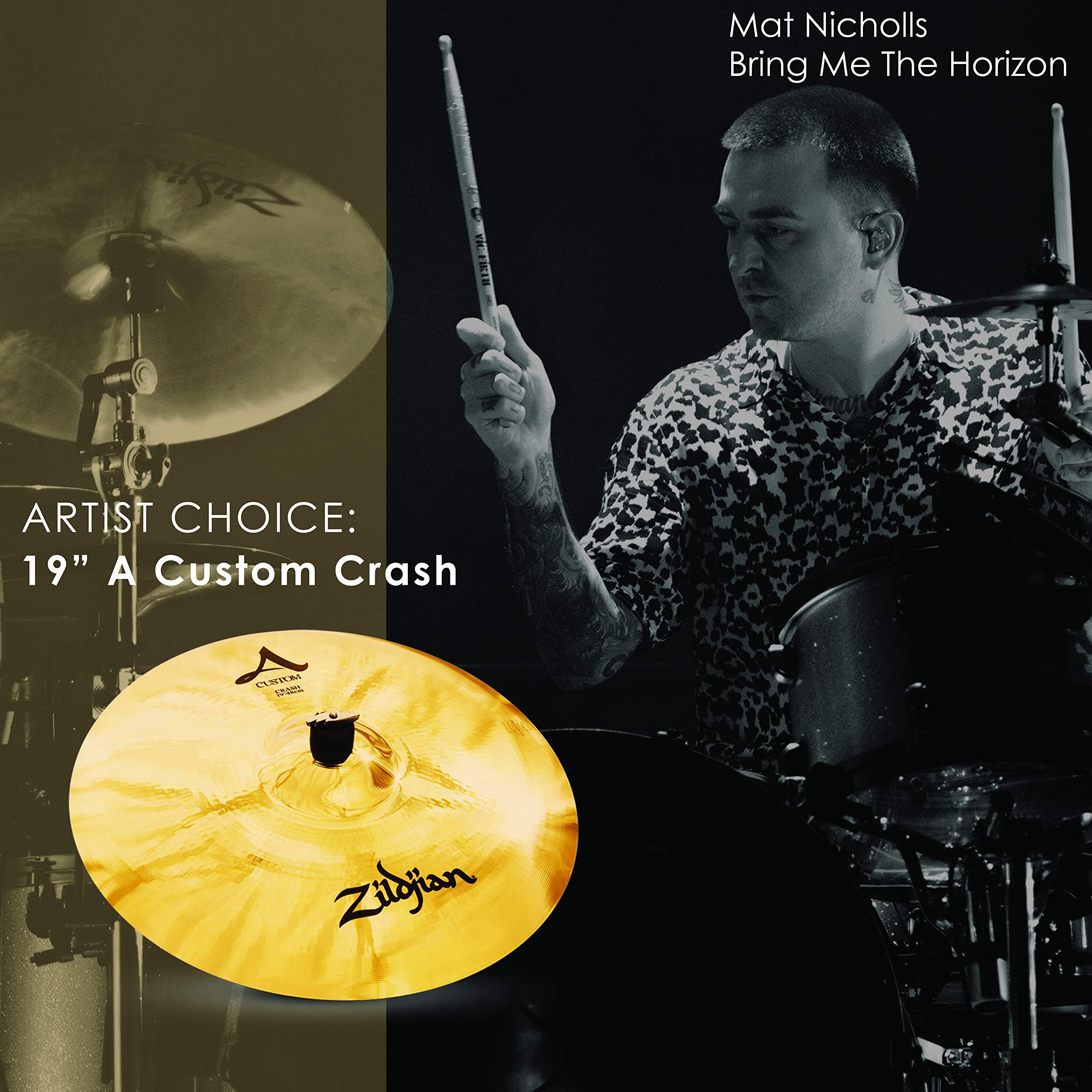 Zildjian A Custom 19'' Crash Cymbal