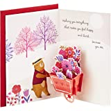 Hallmark Paper Wonder Pop Up Valentines Day Card for Anyone (Beary Loved Valentine)