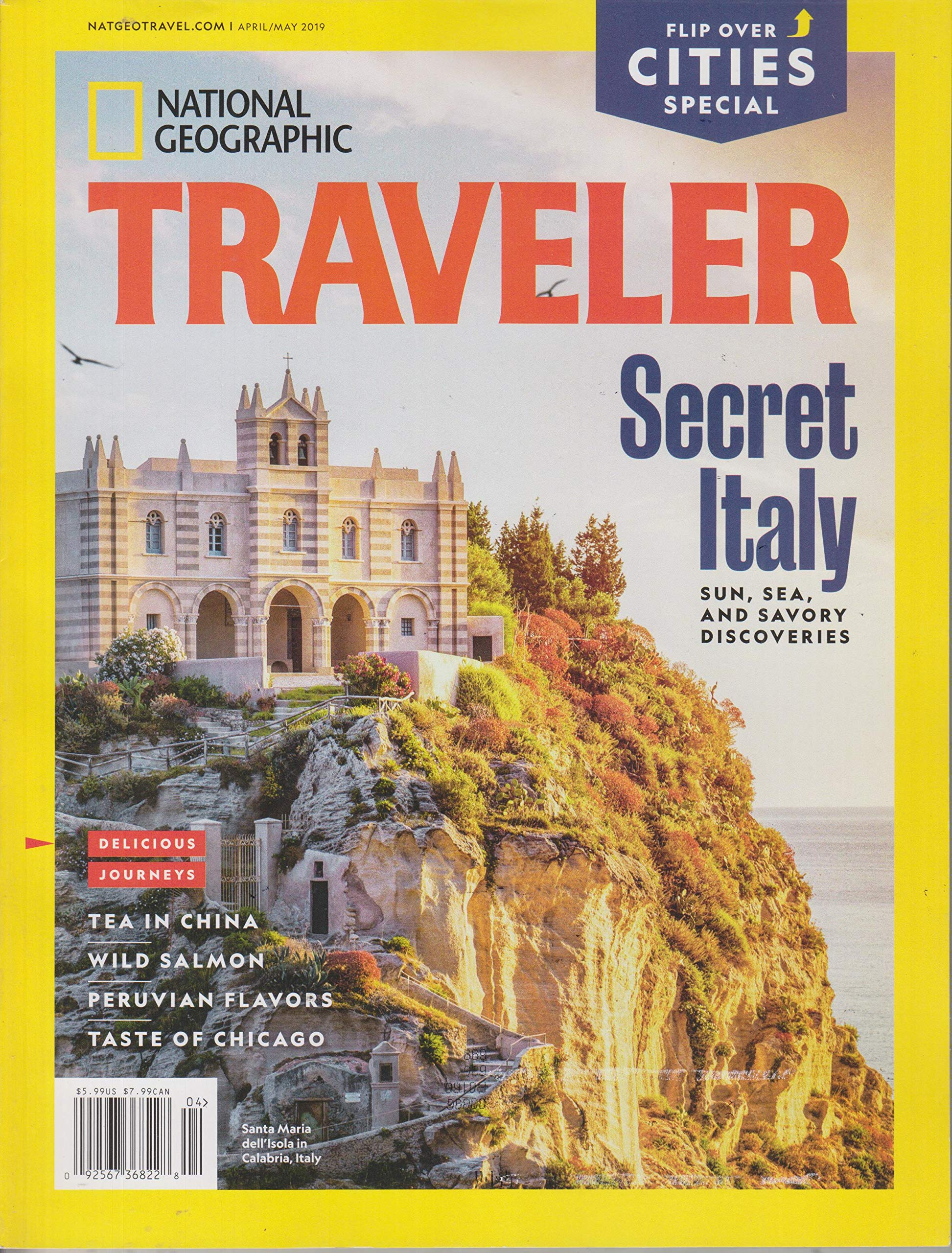 National Geographic Traveler April/May 2019 Secret Italy / City