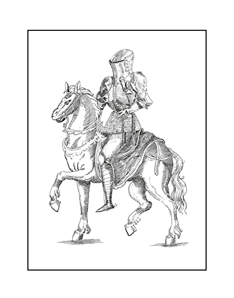 Middle ages - Coloring Pages for Adults | 600x472