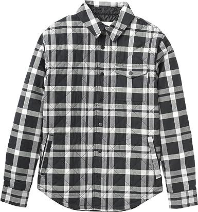 Burton Camisa Franela Bellow Negro/Blanco L: Amazon.es: Ropa y accesorios