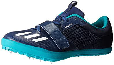 adidas Performance Men's Jumpstar Running Shoe,Collegiate Navy/White/Green,11  M
