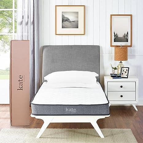 Modway Kate - Colchón de muelles Interiores Dobles de 20 cm – Colchón Firme para habitación
