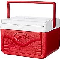 Coleman Flip Lid 6 Personal 5 Quarts Cooler (Red)