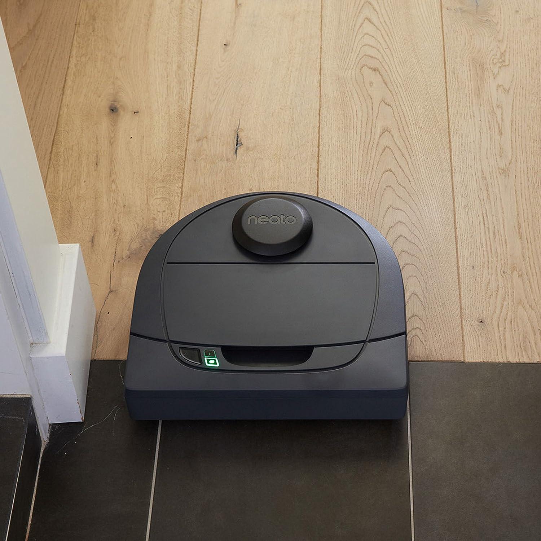 Robot aspirapolvere con stazione di ricarica Neato Robotics D301 Connected - Compatibile con Alexa Wi-Fi