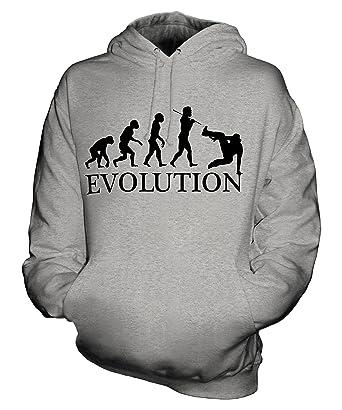 Parkour Evolution of Man - Sudadera Capucha Unisex - Hombre/Mujer/mujer - algodón