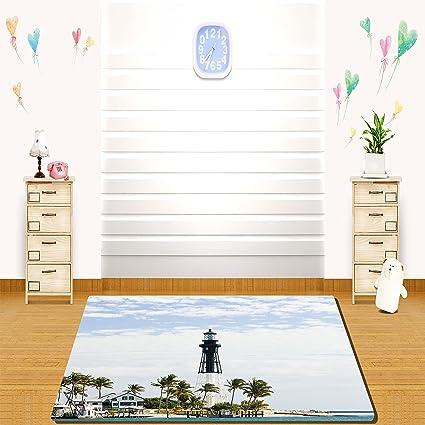 Amazoncom Haixia Rugs United States Hillsboro Lighthouse Pompano