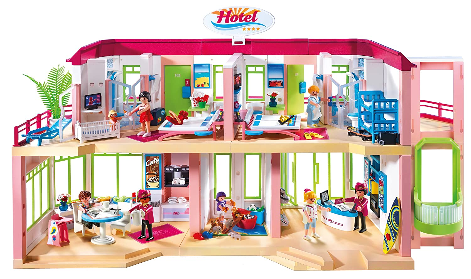 Playmobil  Construction Grand HCBtel dp BQSTNK