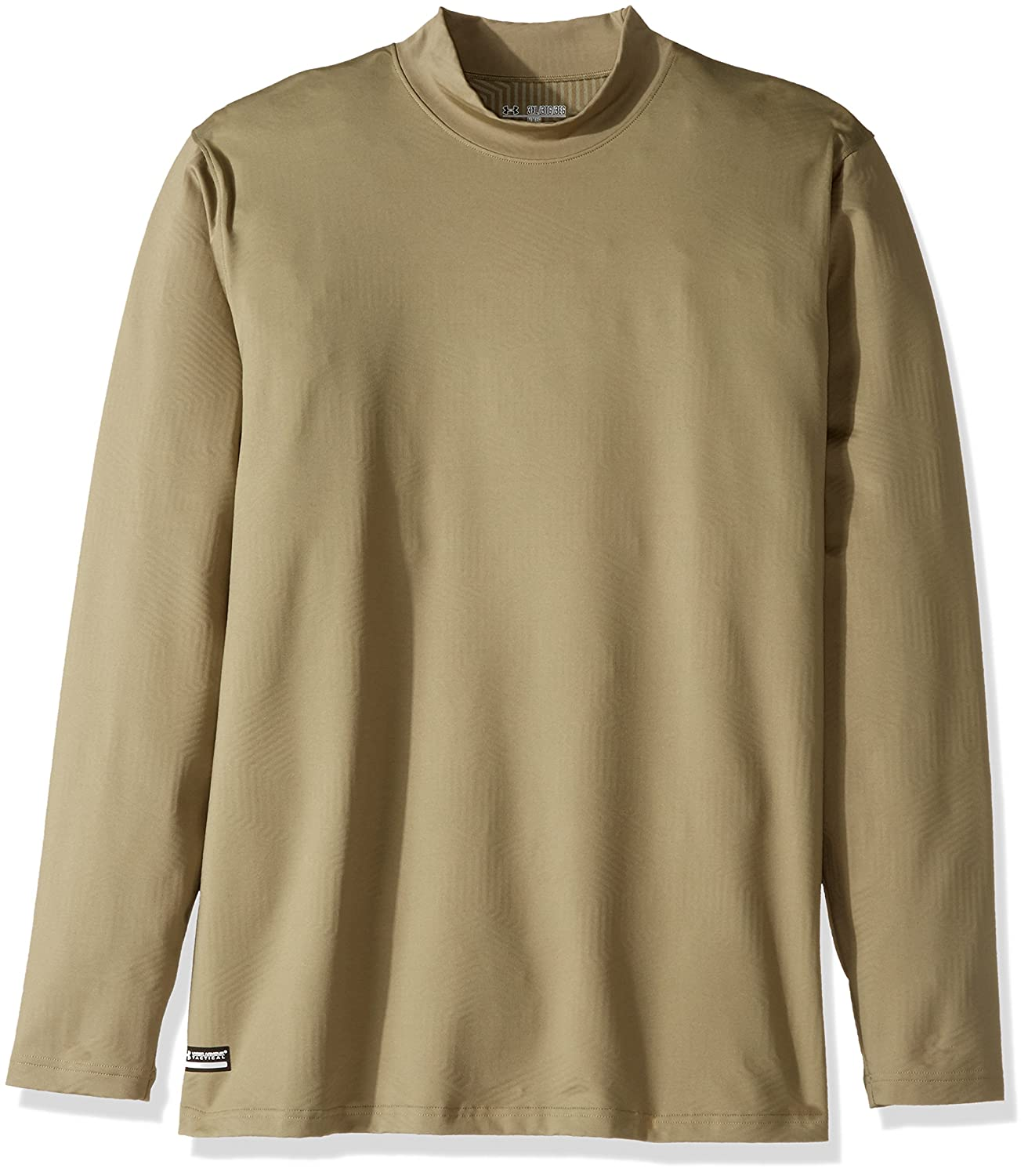 アンダーアーマーメンズColdGear Infrared Tactical Fitted Mock B01FXGOCZY 4L|Federal Tan Federal Tan 4L
