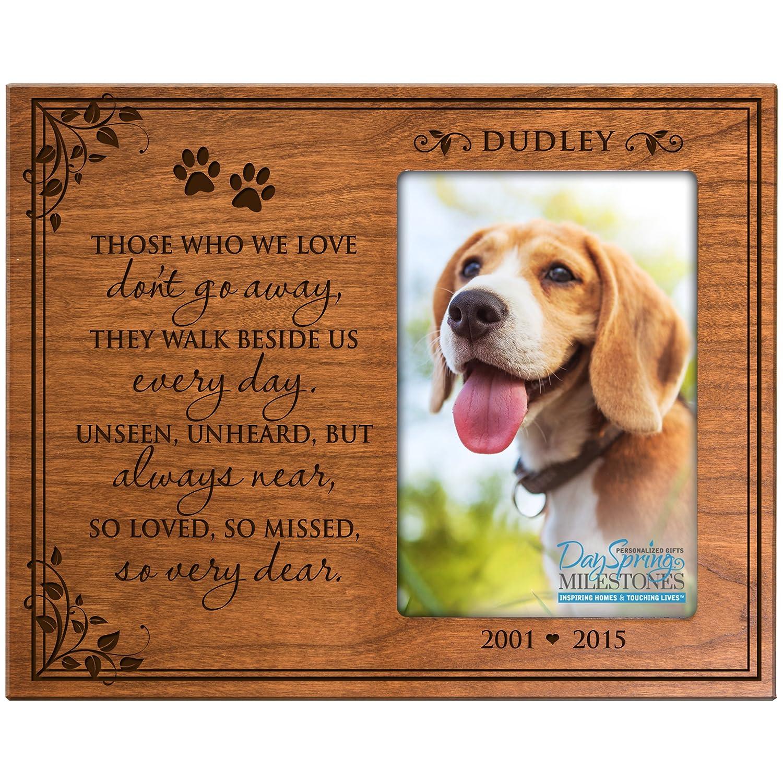 Amazon.com - Personalized Pet Memorial Gift, Sympathy Photo Frame ...
