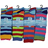 12 Pairs Mens Designer Socks Cotton Rich Lycra Design Socks Size 6-11 Fathers Day Christmas Gift Valentines Day Gift Socks