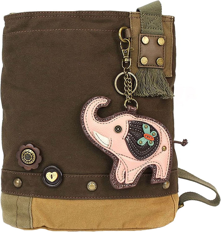 Chala Elephant Patch Crossbody Handbag Elephant Lovers