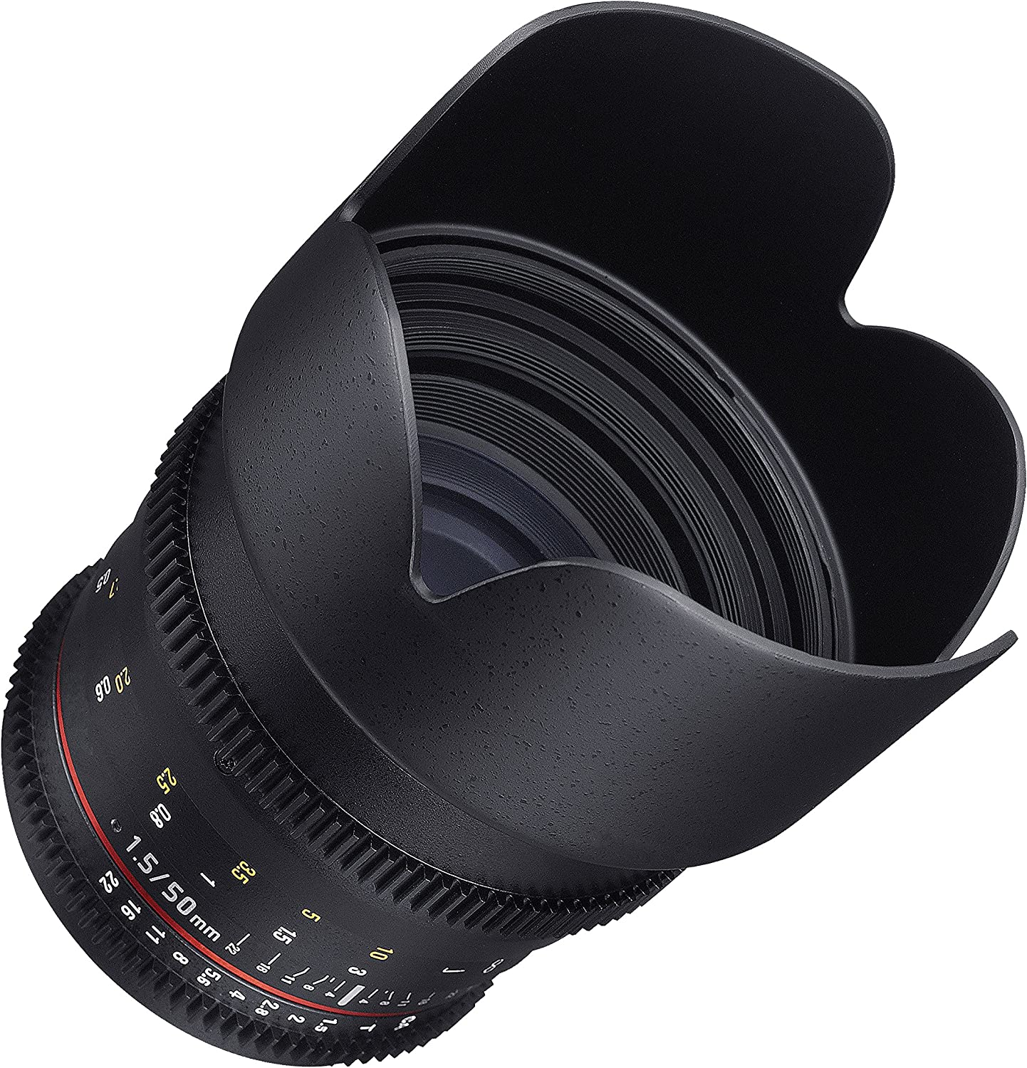 Samyang Cine DS SYDS50M-MFT 50mm T1.5 AS IF UMC Full Frame Cine Lens for Olympus and Panasonic Micro Four Thirds