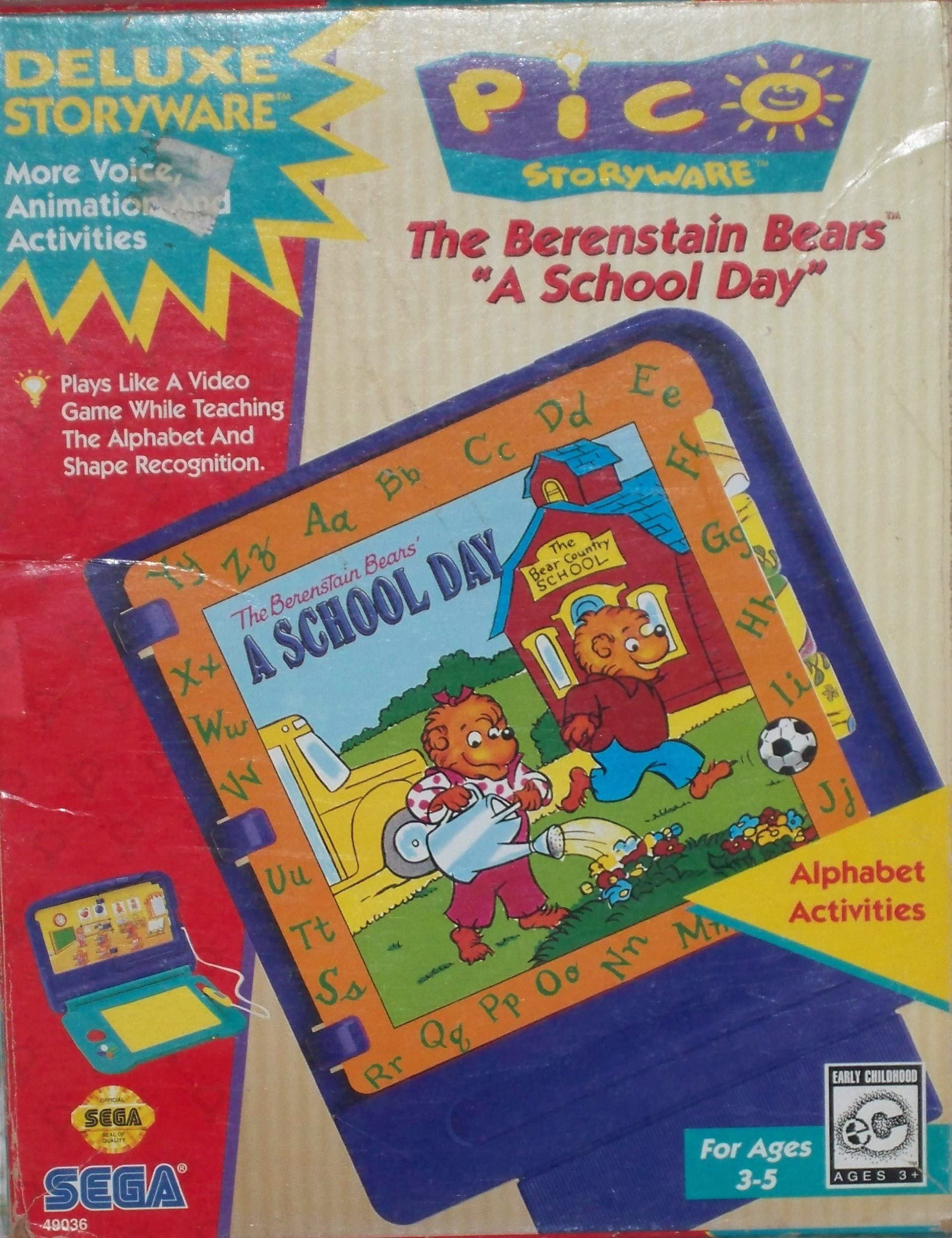 Amazon com: Pico Storyware The Berenstain Bears A School Day