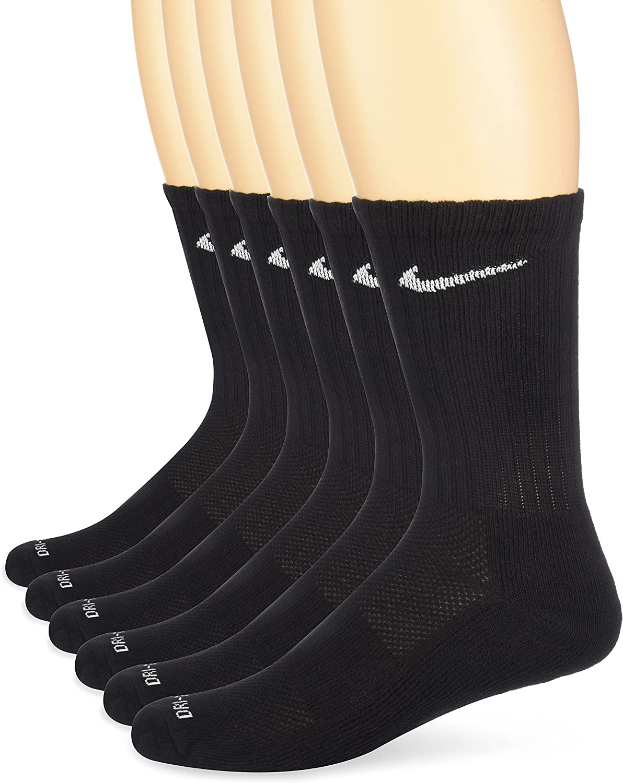 NIKE Dry Cushion Crew Training Socks (6 Pairs)