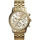 Michael Kors MK5676 - Reloj de cuarzo con correa de acero inoxidable para mujer, color dorado