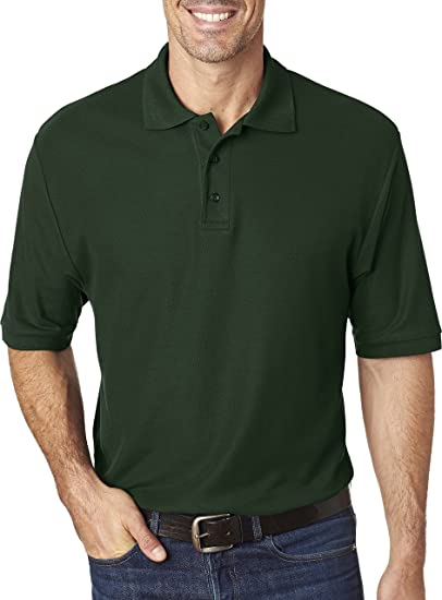 0a990530 Jerzees 537MSR Mens Easy Care Polo at Amazon Men's Clothing store: