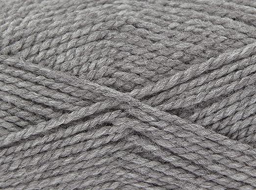 100g Ball Big Value Chunky Knitting Wool King Cole 100/% Premium Acrylic Yarn