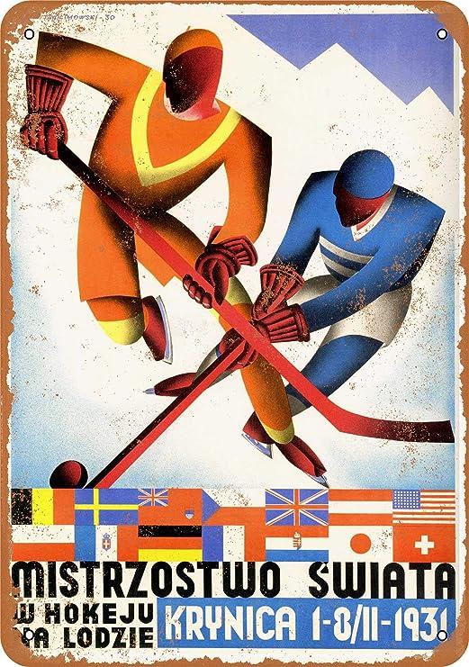 TNND 1931 Campeonato Mundial de Hockey Polonia Decoración ...