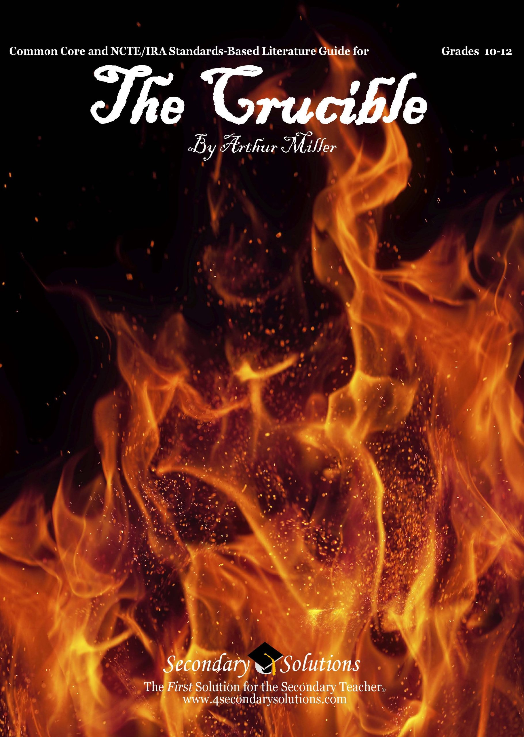 The Crucible Literature Guide (Common Core and NCTE/IRA Standards-Aligned Teaching Guide) ebook