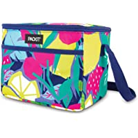 PackIt PKT-EL-FRU Freezable Everyday Lunch Box, Fruitopia
