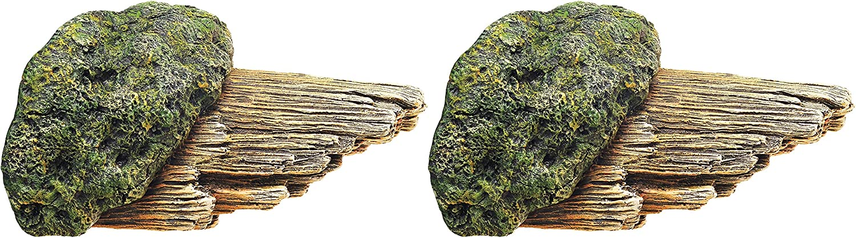 Zilla Broken Branch Reptile Decor 1 Count - Pack of 2