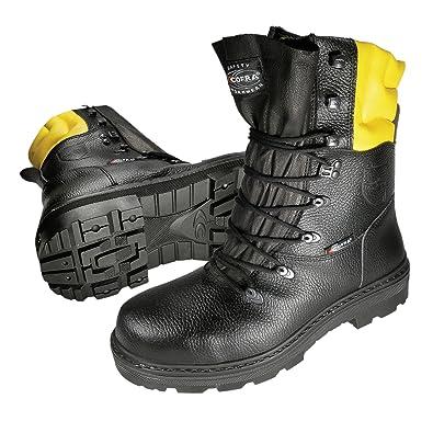 Cofra 40-87890000-45 - Cortar botas resistentes Woodsman 25580-000, Leñadores, botas de seguridad, tamaño 45: Amazon.es: Industria, empresas y ciencia