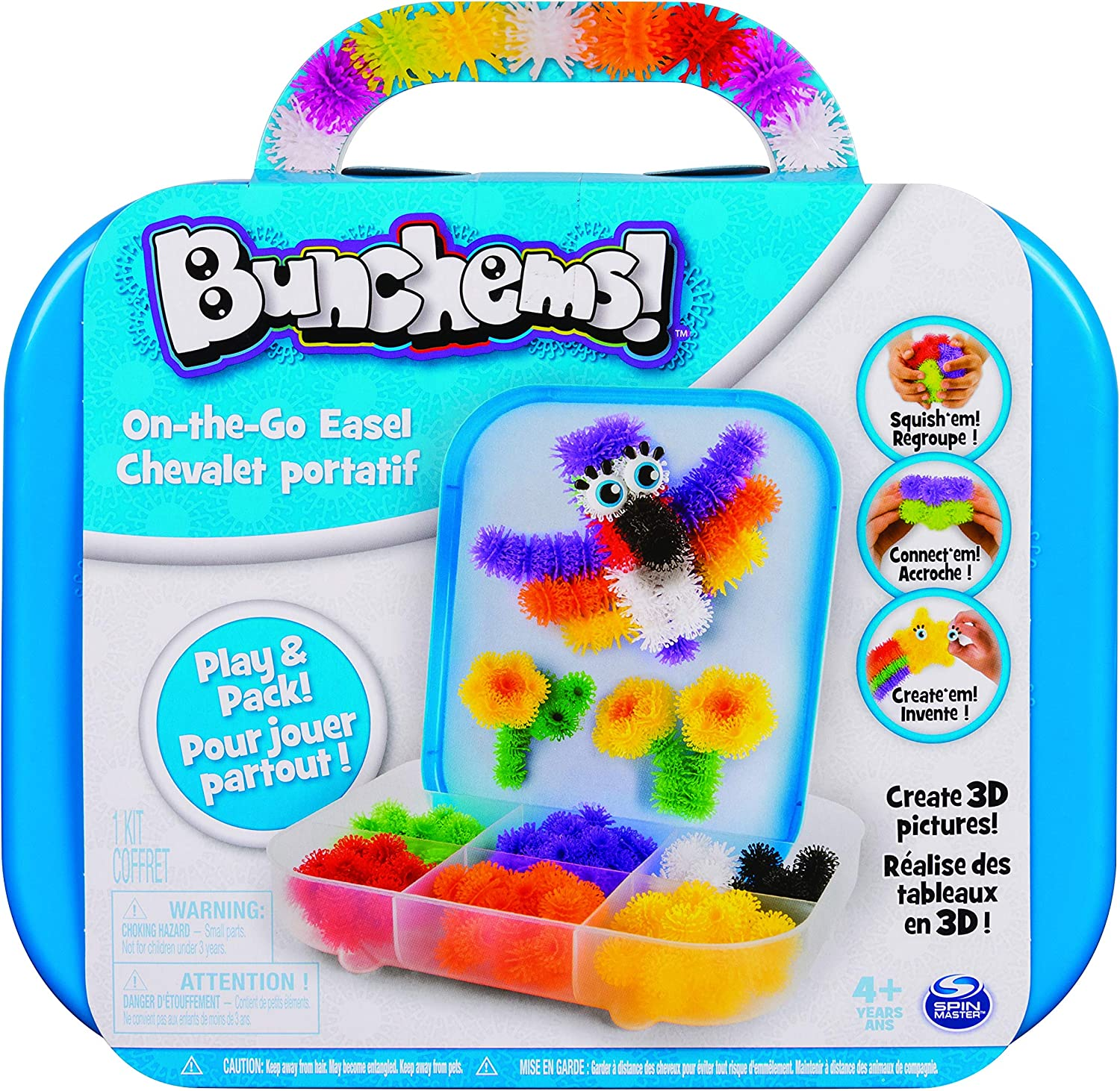 Bunchems On-The-Go Easel, Multicolor (20090950)