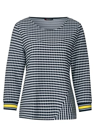 ff2c1d0225e9aa Street One Damen Shirt mit Punkteprint: Amazon.de: Bekleidung