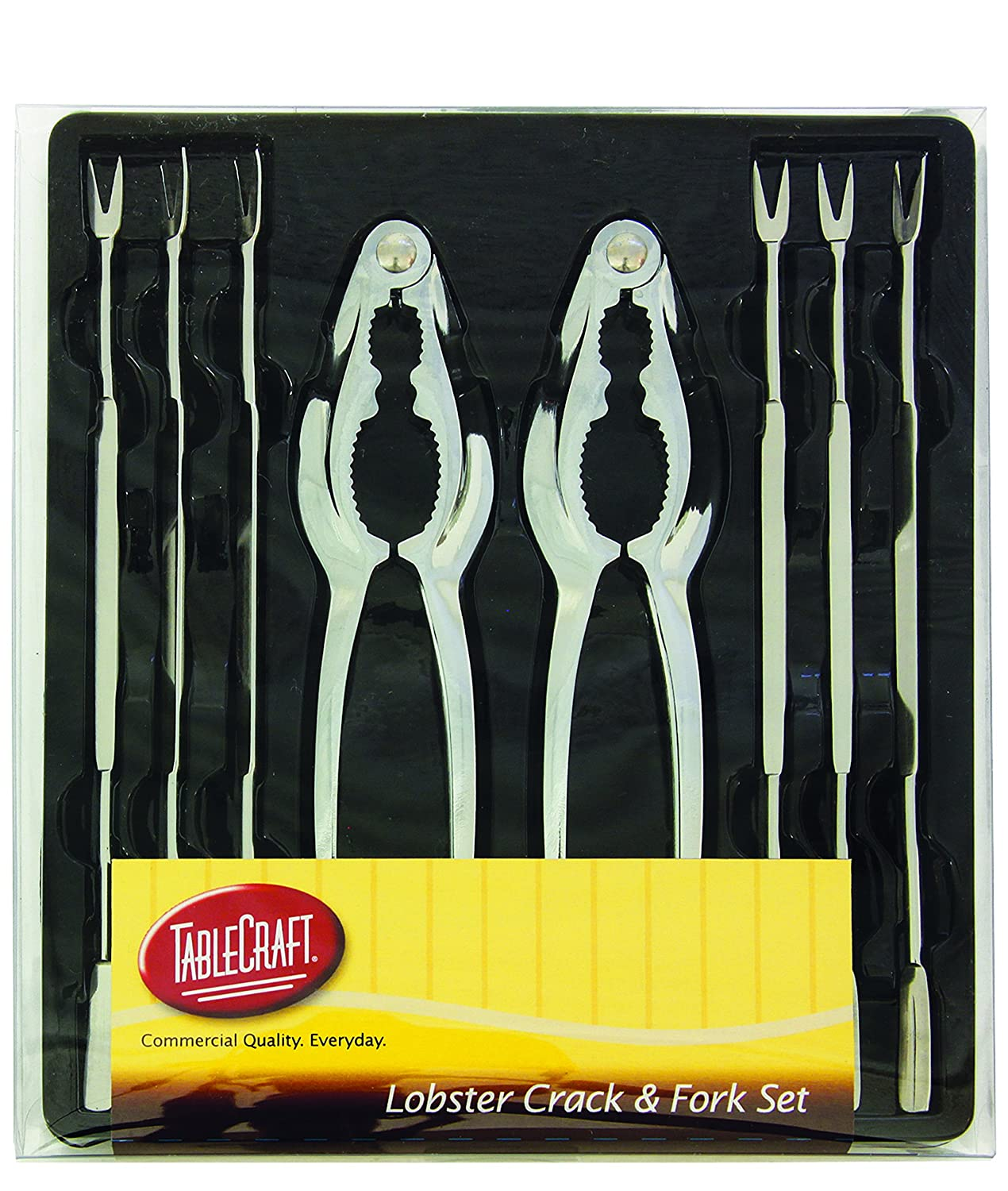 TableCraft Products H76984 8-Piece Seafood Set