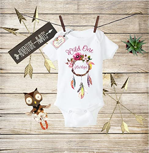 Custom Baby Girl Bodysuit Bringing Home Baby Outfit Personalized Shirt